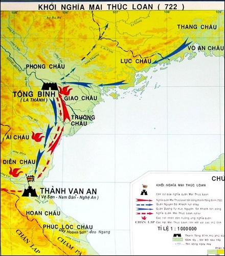 Khảo cứu lại cuộc khởi nghĩa của Mai Thúc Loan- Phan Huy Lê | Nghiên Cứu  Lịch Sử