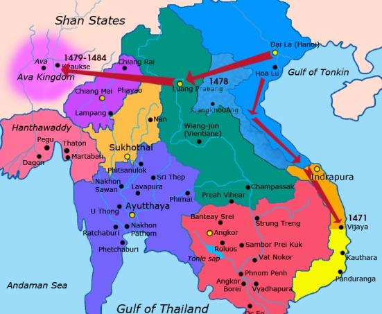 Cuộc viễn chinh của Đại Việt Tk XV