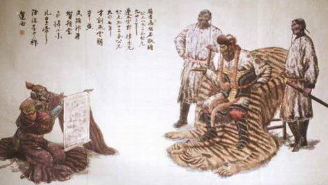 tangut emperor
