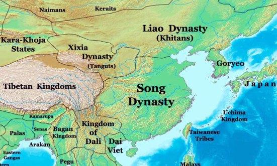tangut_Map