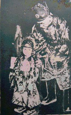 Hoàng Thái Tử Bảo Long lúc nhỏ.
