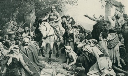 Hermann's Triumphant after the defeat of Varus