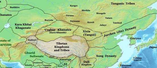 kara khitai empire