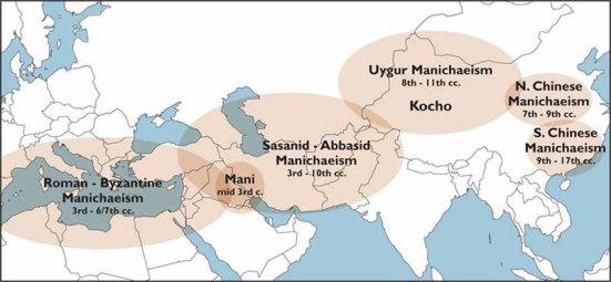 Manichaeism Map