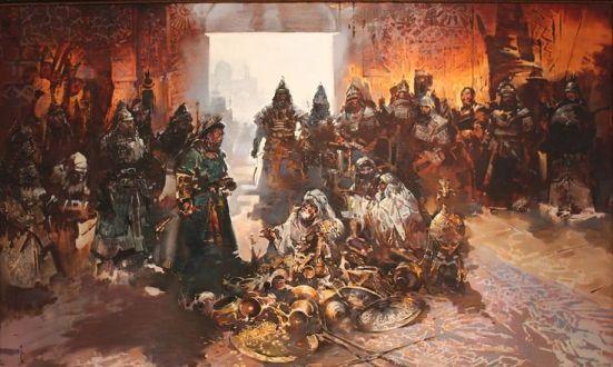 MONGOL SACK OF BAGHDAD