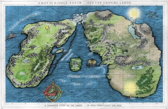 a_map_of_middle-earth