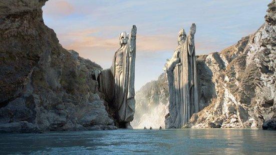 Pillars of the Argonath
