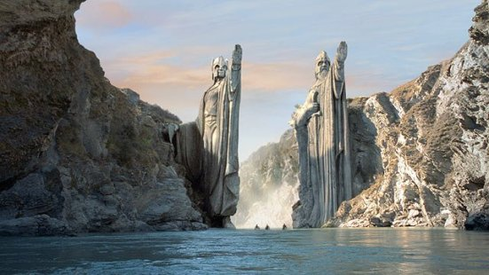 Pillars of the Argonath