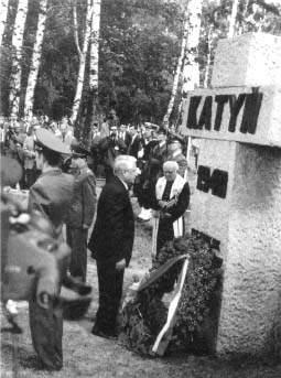 Boris Yeltsin Katyn