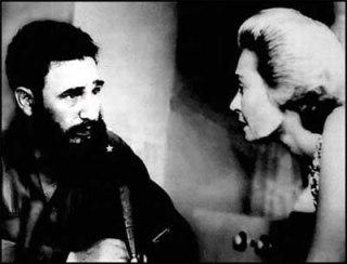 Lisa Howard   Fidel Castro tại La Habana 1963.