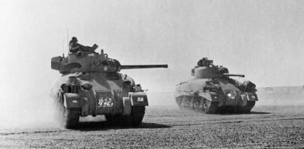 sherman-tanks-el-alamein