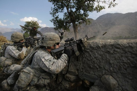 Afghanistan Village in the Crossfire