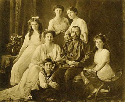 Sa hoàng Nicholas II và gia đình