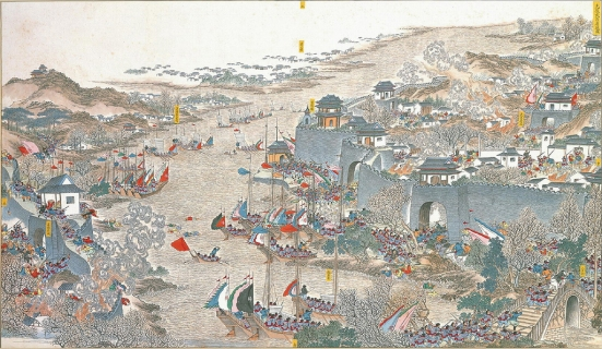 Vanquishing of Wuchang city