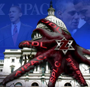 Zionist-octopus-over-White-House