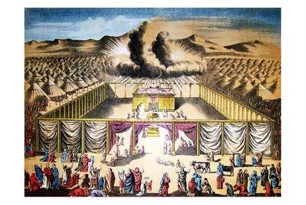 """Tranh diễn tả người Israel thấy Thượng Đế hiện ra. Trong Exodus 33:1-3 viết: """"Thế rồi Thượng Đế nói với Moses, 'Hãy rời nơi này, mi và những người mà mi đã nuôi dưỡng, ra khỏi Ai Cập, đến vùng đất mà ta đã hứa với Abraham, Isaac và Jacob ; ta đã nói, 'Ta sẽ cho con cháu ngươi vùng đất ấy.' Ta sẽ cử một thiên sứ đi trước ngươi, dẫn các ngươi ra khỏi Canaanites, Amorites, Hittites, Perizzites, Hivites và Jebusites. Hãy đi thẳng tới vùng đất, mang sữa và mật ong. Ta sẽ không đi cùng các ngươi, vì các ngươi là những bọn cứng đầu, và ta có thể hủy diệt các ngươi trên đường đi.'"""" Và cứ thế mà trở về nhà thôi. Đường thì xa và trắc trở, nhưng đã được Thượng Đế dặn thế rồi!"""