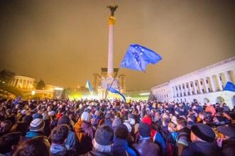 biểu tình ukraine