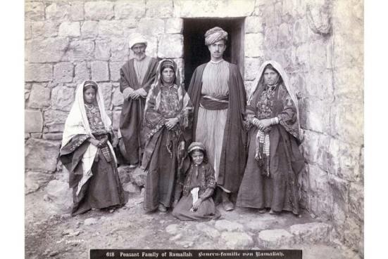 Một gia đình nông dân tại Palestine 1900-1910