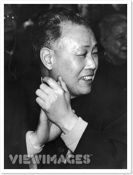 Triệu Tử Dương vào đầu tháng 9 năm 1980, sau khi được chính thức phong chức Thủ Tướng. (Ảnh Keystone/Getty)