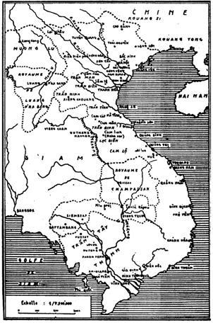 Việt Nam dưới thời Minh Mạng (Bảnđồ Lê Thành Khôi)