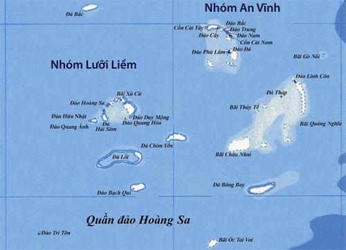 Quần đảo Hoàng Sa - Đồ họa: Thanh Niên Online