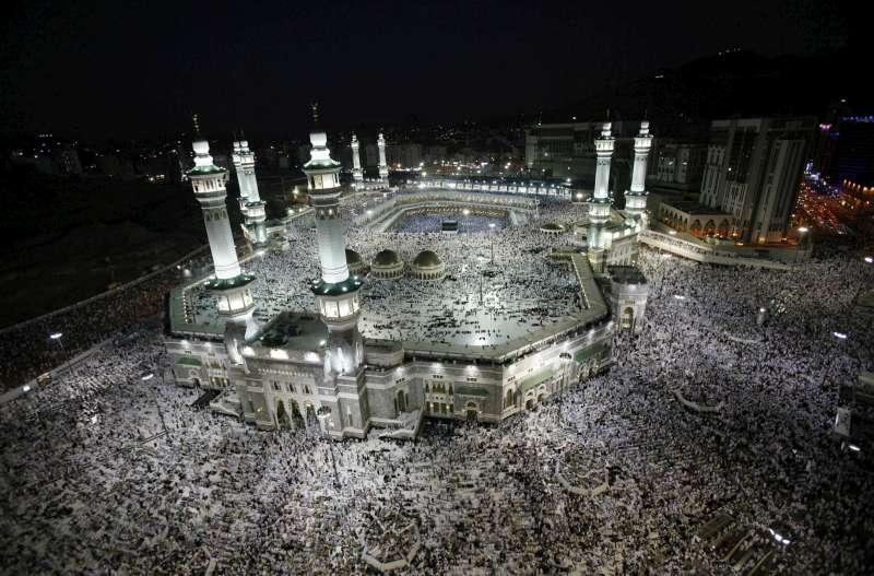 Hành hương ở Mecca (ảnh unhcr.org)