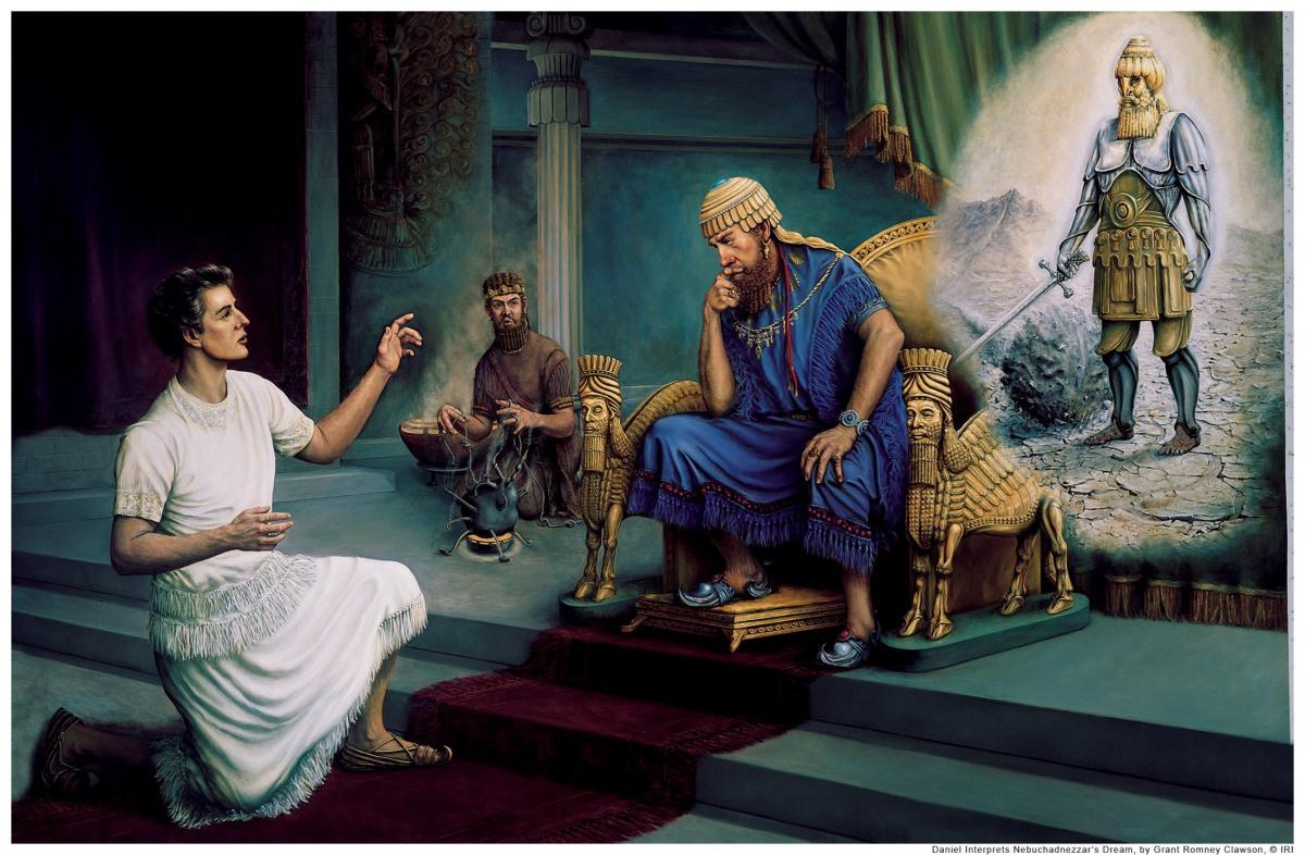 Tiên tri Daniel và bốn đế quốc