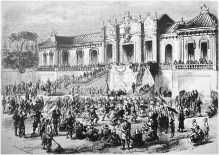 Liên quân Anh Pháp cướp phá tại vườn ngự uyển Viên Minh, 1860