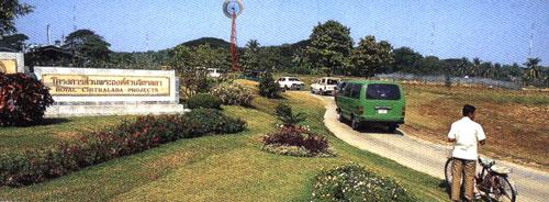 Nơi ở của hoàng gia trong khuôn viên điện Dusit nằm ở trung tâm Bangkok ngay cạnh nông trang thí nghiệm và ngân hàng cây trồng được dựng lên kể từ những năm 1950