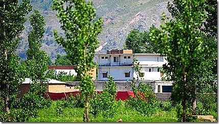 Căn nhà nơi bin Laden trú ẩn
