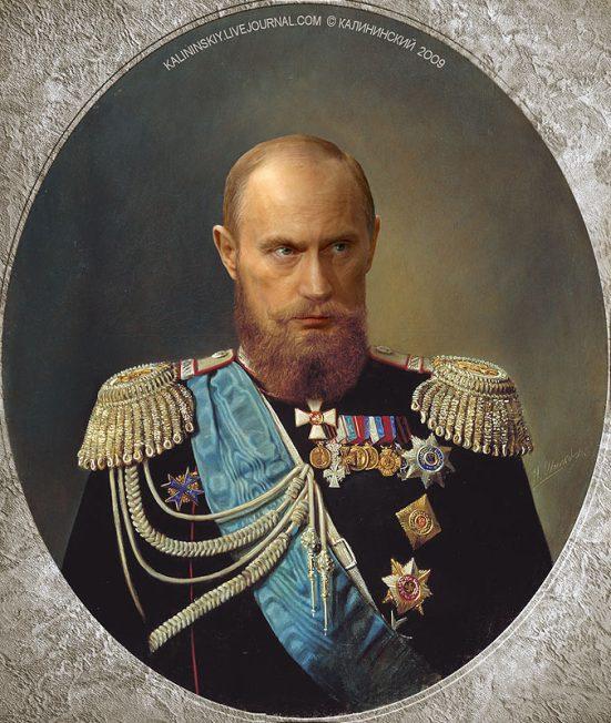 Sa hoàng Putin (ảnh seansrussiablog.org)