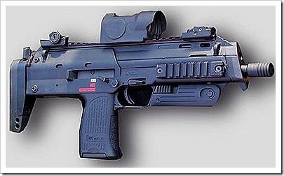 Theo Paris Match, đây là loại súng giết bin Laden, H&K MP7 (Heckler & Koch)