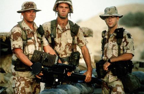 Quân đội Mỹ triển khai trong chiến dịch Lá chắn sa mạc