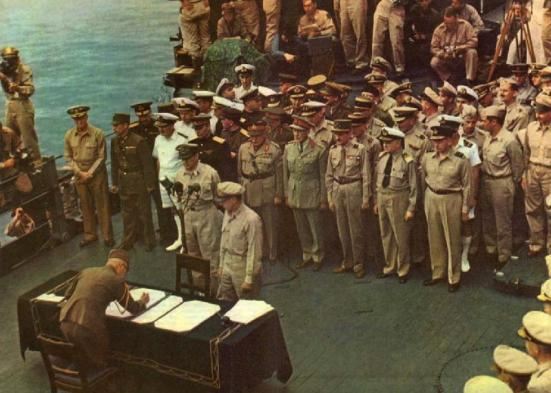 Surrender of Japan - 1945