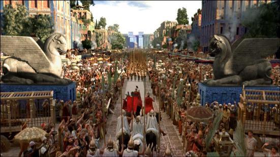 Thành Babylon trong phim Alexander đại đế