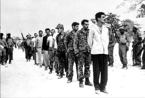 Quân lưu vong Cuba bị bắt trong Sự kiện Vịnh Con lợn.