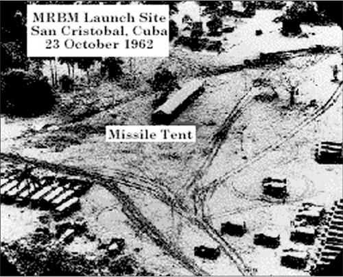 Ảnh máy bay U-2 chụp bãi phóng tên lửa của Liên Xô ở San Cristobal