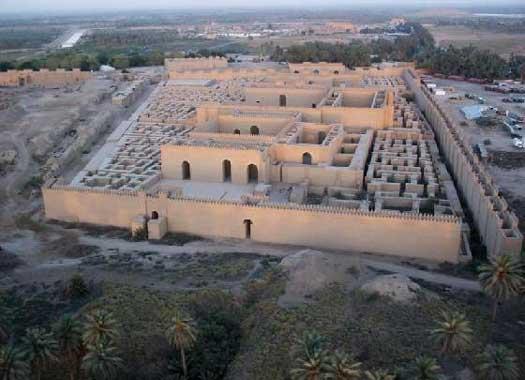 khai quật thành cổ Babylon