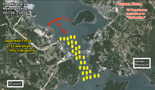 Bản đồ trận yeongnyang.