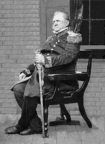 Tướng Scott năm 1861.
