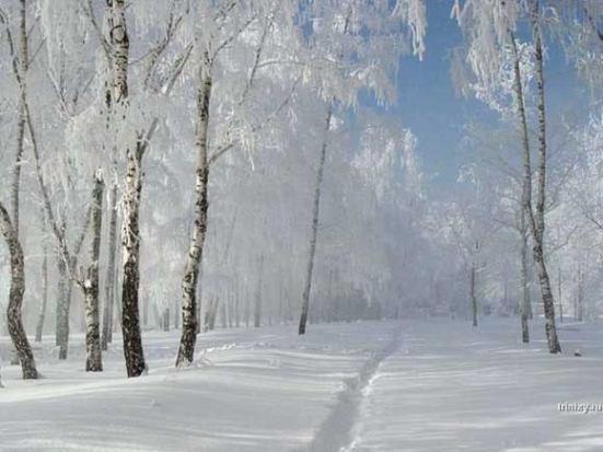 Mùa đông nước Nga