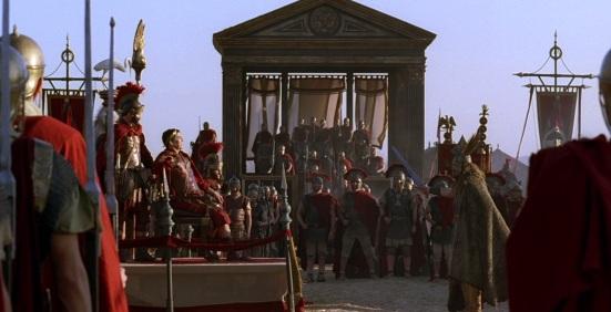 Vercingetorix đầu hàng Ceasar (Rome Series)