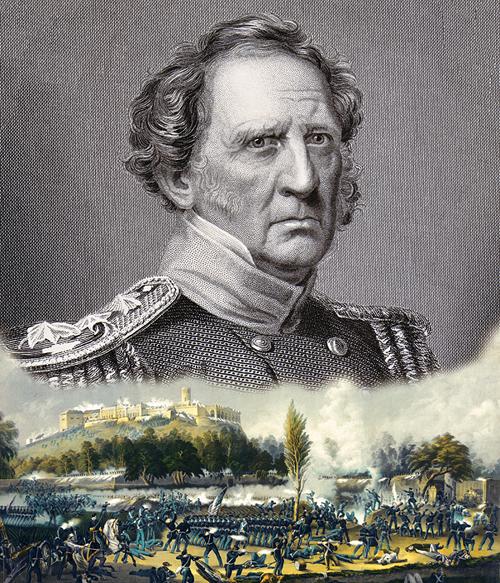Tướng Winfield Scott.