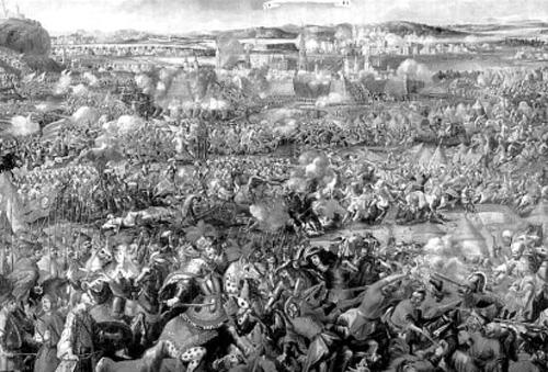 Quân Đức và Ba Lan giải cứu Vienna.