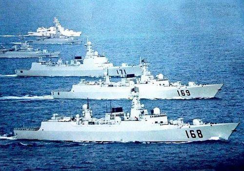 Hạm đội Nam Hải của TQ