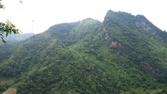 Cao điểm 772, Hà Giang - nơi diễn ra trận đánh ác liệt ngày 12-7-1984 - Ảnh: Hoàng Điệp