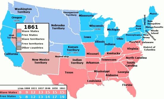 american territory expand 1787 – 1861