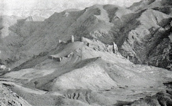 Một trong các pháo đài Assassin.Hình của David Nicolle.