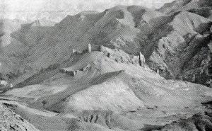 Một trong các pháo đài Assassin. Hình của David Nicolle.