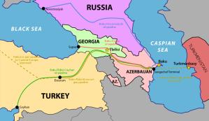 Baku-Tibilisi-Ceyhan pipeline